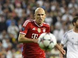 Arjen Robben claims Bayern Munich dominated Real Madrid in the Bernabeu despite losing