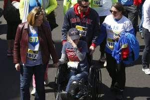 Inspirational Photos From The Boston Marathon