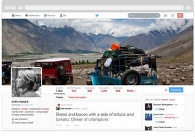 Twitter rolls out redesigned web profile for all users