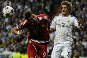 Real Madrid gets leg up on Bayern Munich in Champions League