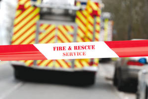 Smoke surge in Bletchley from underground electricity box